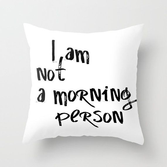 Funny Pillow Cases, Funny Pillow, Throw Pillow Cover, Pillows With Words, Teen Girl Room Decor, Cute Pillow Cases, Quirky Covers,Text…