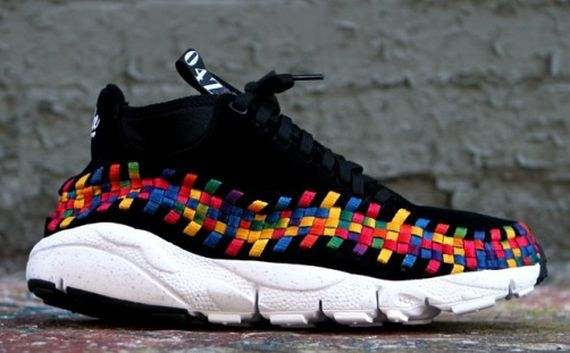 """low priced c5eb6 2d561 Nike Footscape Woven Chukka Motion """"Rainbow"""" Pack – Updated Release Info -  SneakerNews.com"""