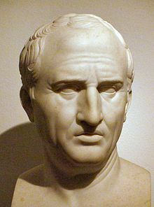 """Marcus Tullius Cicero: """"I prefer the most unfair peace to the most righteous war."""""""