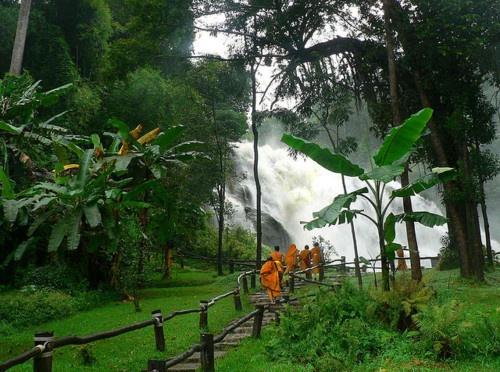 Doi Inthanon National Park and mountain, Thailand