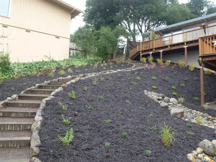 1000 images about landscape steps on pinterest gardens for How to build a house on a steep slope
