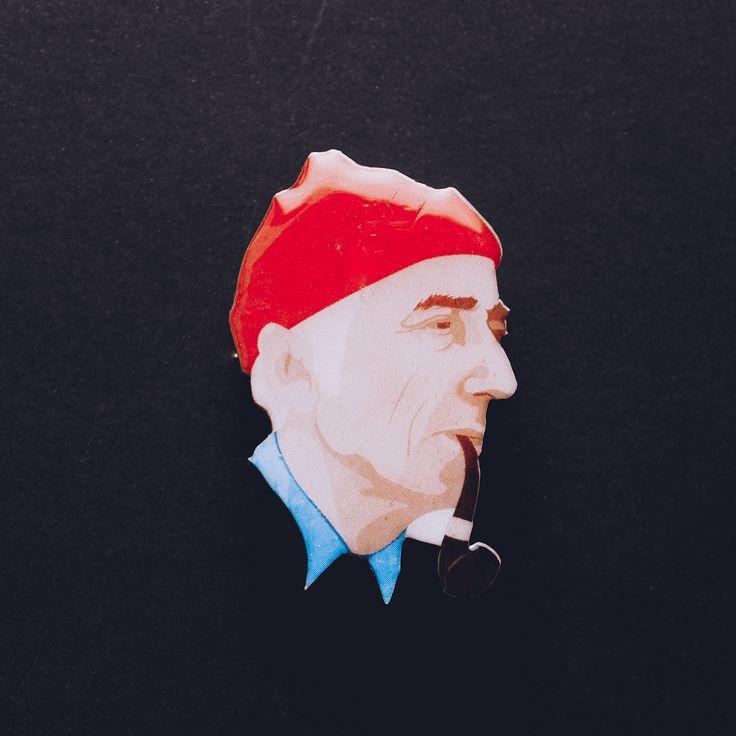 Жак ив Кусто by YELLOWNESSA в магазине «YELLOWNESSA» на Ламбада-маркете