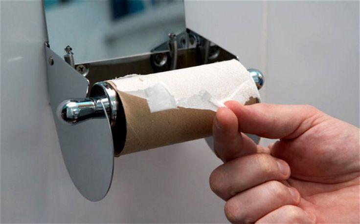 Что делать когда закончилась туалетная бумага
