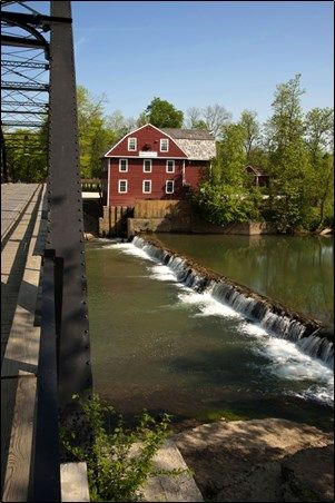 ARKANSAS: War Eagle Mill, Rogers, Arkansas USA