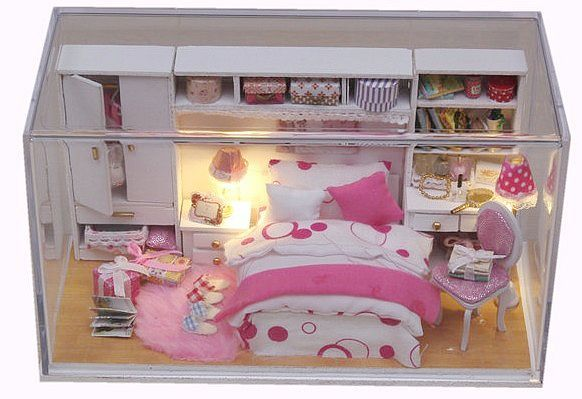Wood Craft Assembly Dolls Furniture P