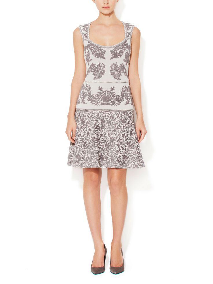Scalloped A-Line Dress by Zac Posen at Gilt