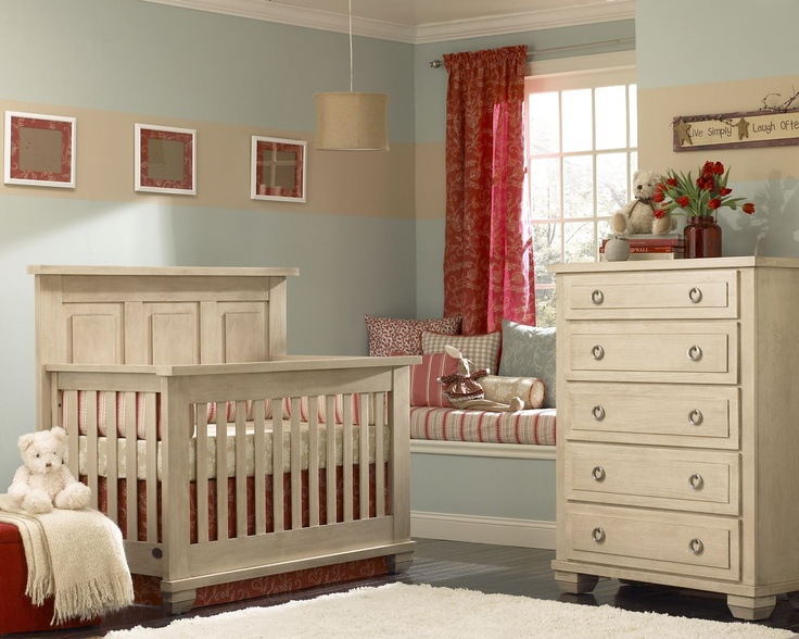 Echelon Sonoma Collection Shown In Driftwood Solid Wood Made America All Nursery Furniture Is Available At Great Beginnings