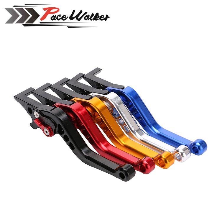 Motorcycle CNC aluminum Shorty Adjustable Brake Clutch Levers For Honda GROM MSX 125 2013 - 2015 #Affiliate