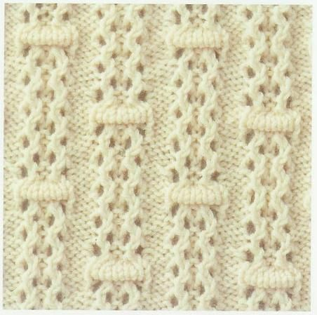 Lace Knitting Stitch #25