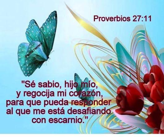 ~Proverbios 27:11~
