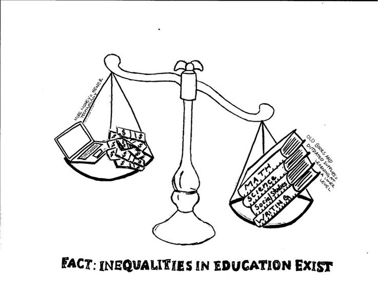 Classism causes education disadvantages/imbalance.