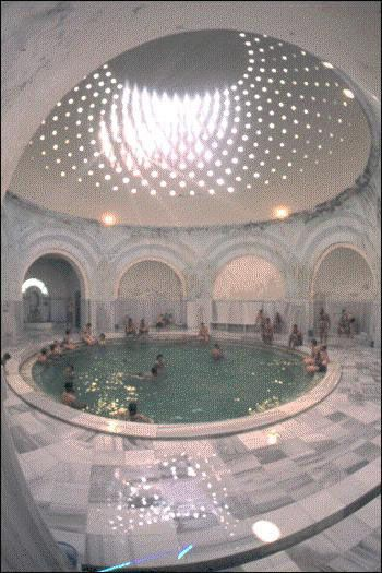 Turkish bath, Bursa, Turkey
