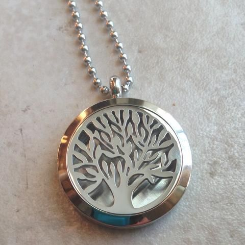 Diffuser Necklace - Tree of Life - Large