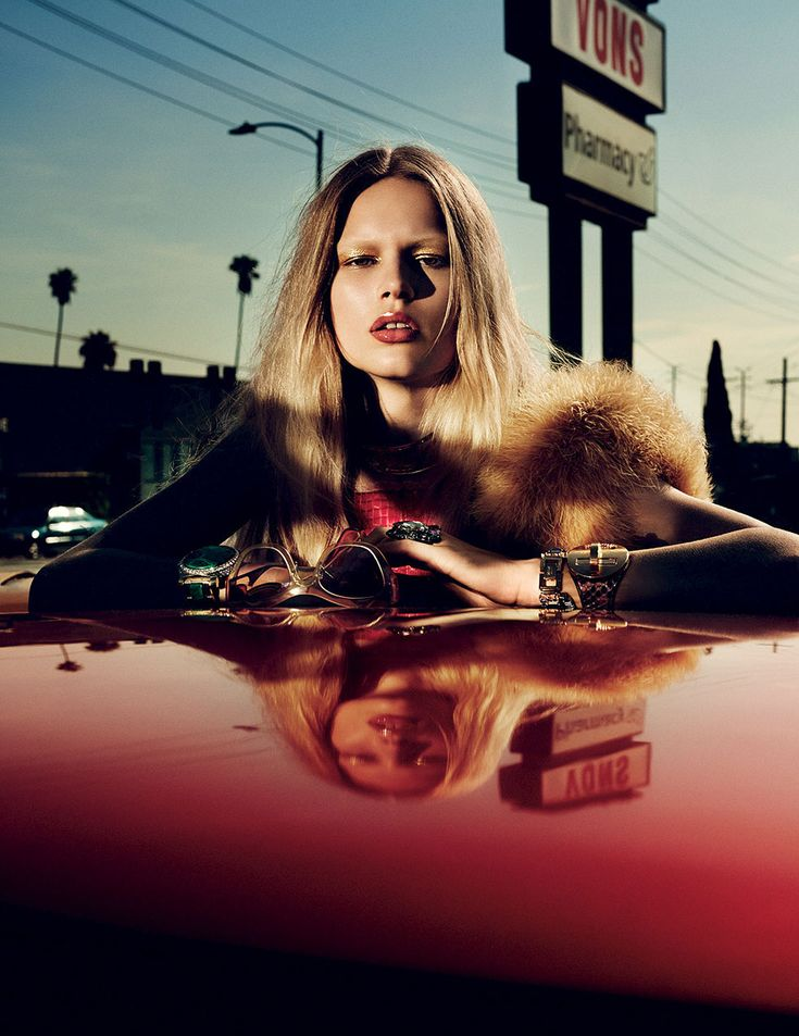 Anna Luisa Ewers by Mikael Jansson for Interview Magazine March 2014 Photo