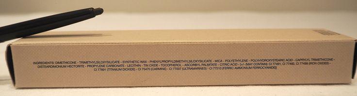 Burberry Makeup Effortless Khol liner in 02 Chestnut Brown Ingredients