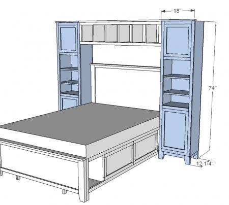 Storage Bed System