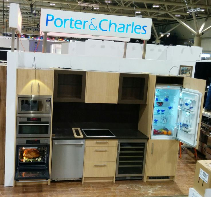 Another kitchen display we were assembling at the #IDS15 show