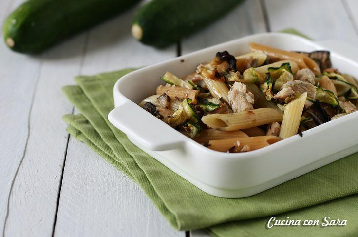 Pasta tonno e zucchine - ricetta velocissima!