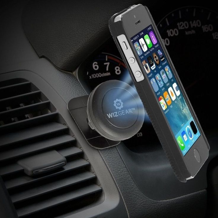 WizGear Universal Magnetic Car Mount Holder Cell Phone GPS Air Vent Dashboard  #WizGear
