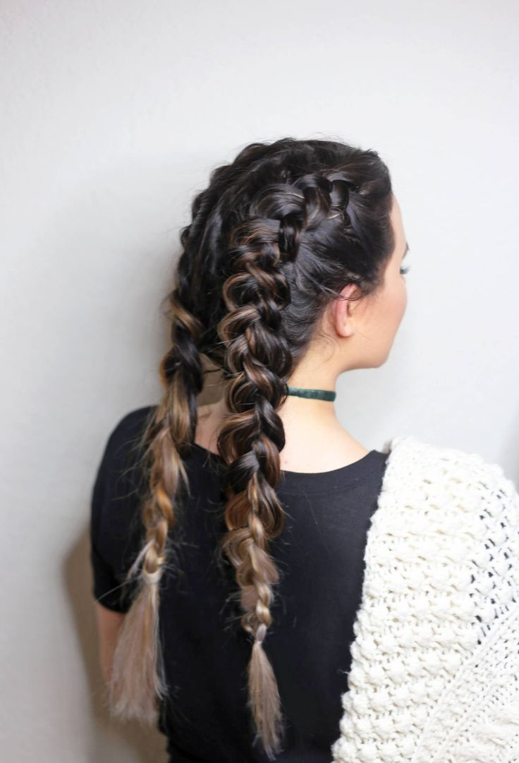 Double Dutch Braids For Beginners Clean Updo
