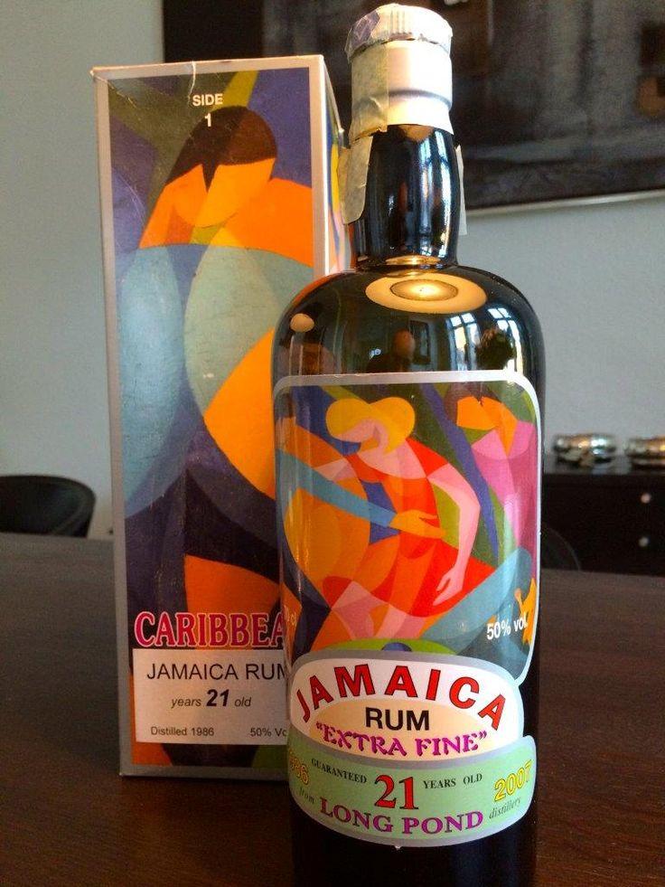 Silver Seal Jamaican Rum 21 Years Old Whisky, Seal, Flaske