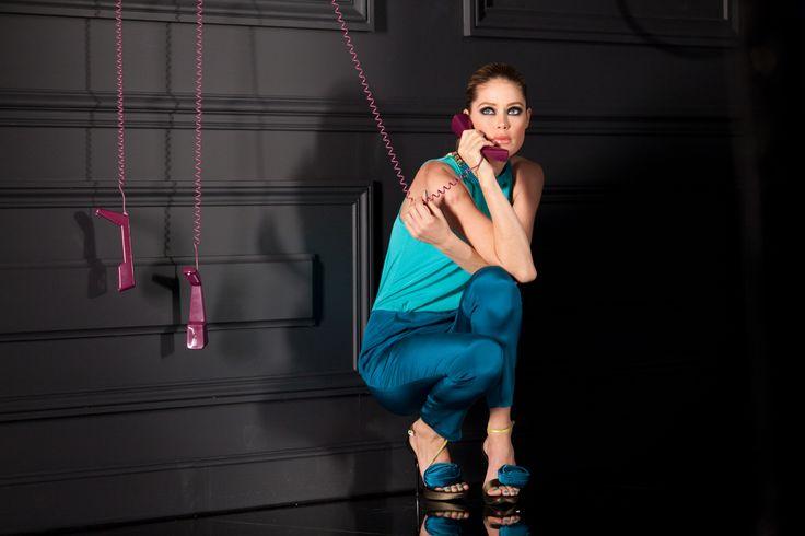 Doutzen Kroes pour L'Oréal Paris// Color Riche Le Vernis backstage
