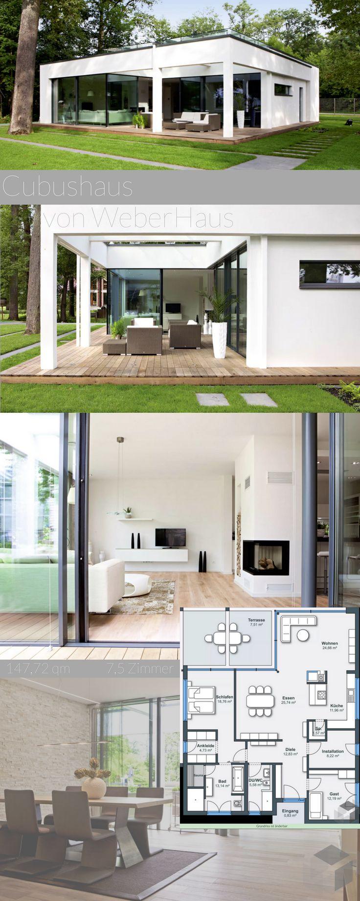 39 best Cubushäuser - moderne Häuser mit Flachdach und Kubusformen ...