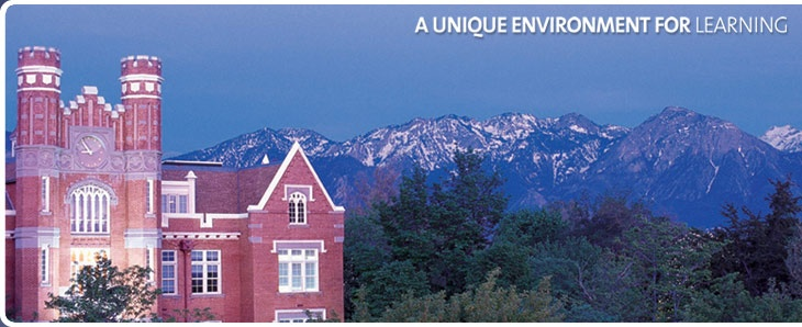 Westminster College, Utah.  Where I went to college.
