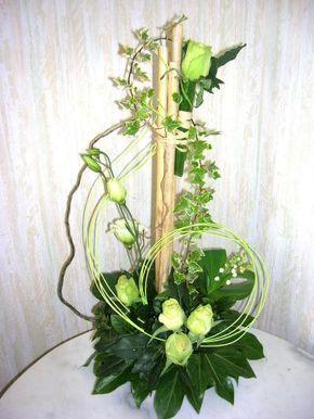 Joli mois de mai Roses blanches et muguets