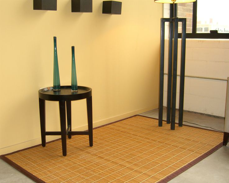 #Bamboo #rugs Come In A Variety Of Colors: Light #Natural Bamboo Rugs