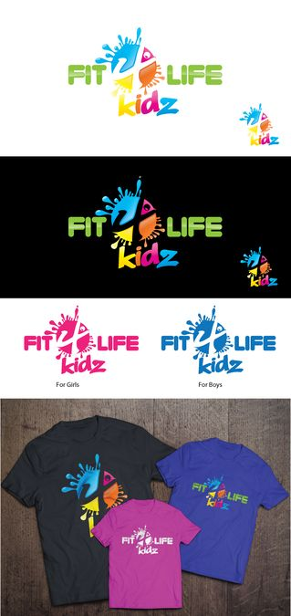 Create a FUN logo for a new Kids Fitness company! by Goku_10