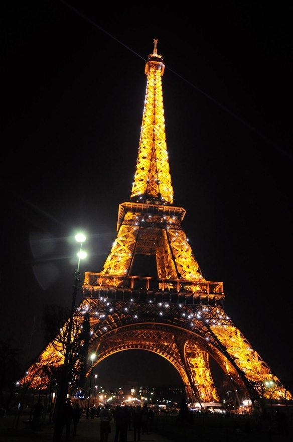 EIFFEL TOWER. One of these days I shall see you face to face and be able to touch you.