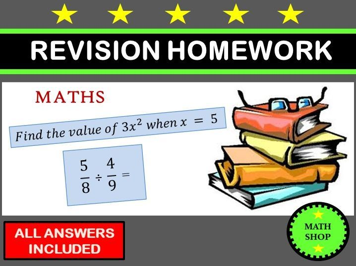 Maths Revision Homework In 2021 Learning Math Math Foundation Maths