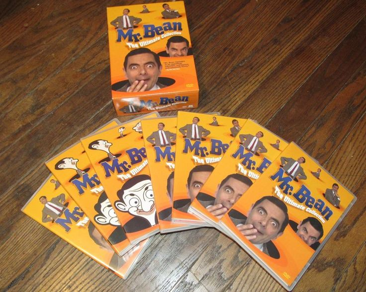 Mr Bean The Ultimate Collection 7 DVD Box Set Comedy FREE SHIPPING