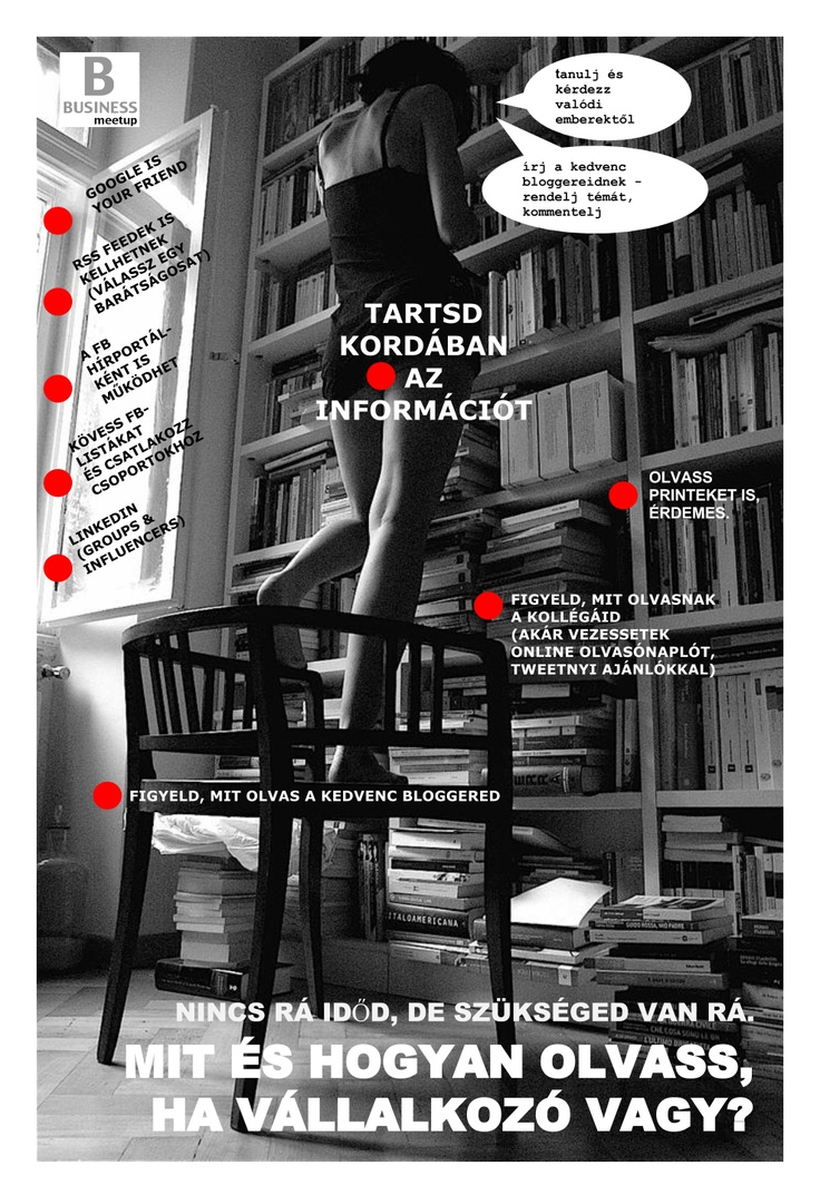 TOUCH this image: Mit és hogyan olvass, ha vállalkozó vagy? by Megoldás.Most
