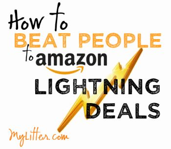 Daily Amazon Lightning Deals Preview How to Beat People to Amazon Lightning Deals