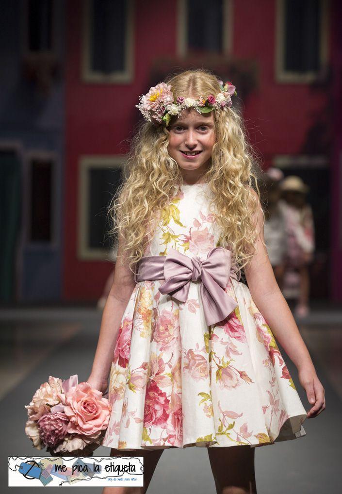 La Ormiga - Colección moda infantil niña Primavera Verano 2016