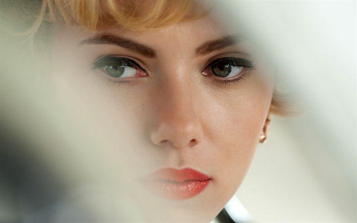 Hämta bilder Scarlett Johansson, Janet Lee, Hitchcock, Amerikansk skådespelare, porträtt