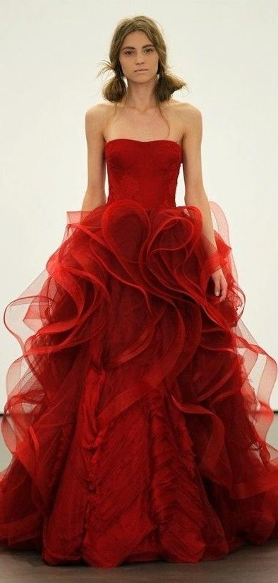 Vera Wang my cousin just wore this at her wedding