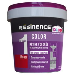 Les 30 meilleures images propos de travaux salle de bain for Prix resinence color