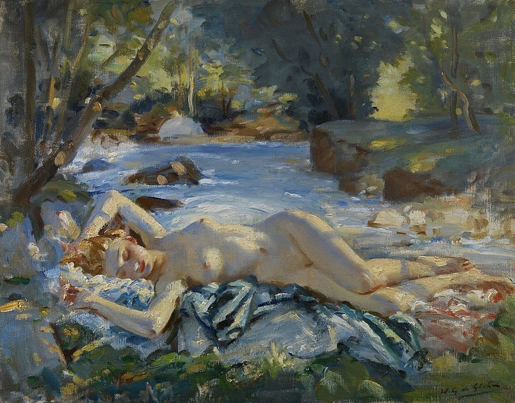 Art And Dream Artist Painter British Wilfred Gabriel De