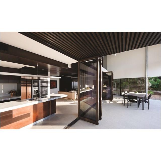 Indoor/Outdoor Kitchen And Living Area