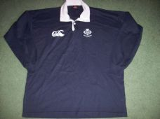 2000's Scotland L/s Rugby Union Shirt Adults Large Top