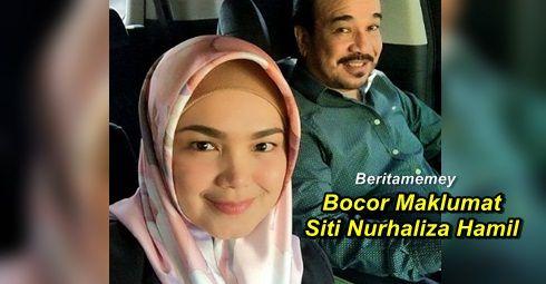 """Bocor Maklumat Ujian Darah Siti Nurhaliza Kini Hamil?   Bocor Maklumat Siti Nurhaliza Hamil?  Selepas 11 tahun berkahwin dengan Dato K penyanyi Dato Siti Nurhaliza sering dikaitkan dengan berita kehamilan. Sebelum ini Siti Nurhaliza pernah mengandung namun telah mengalami keguguran. Baru-baru ini sekali lagi berita tentang kehamilan Dato Siti Nurhaliza menjadi buah mulut orang ramai. Ada pihak menyebarkan berita ini dengan mengatakan ada sample darah milik """"Siti Nurhaliza Taruddin: yang…"""