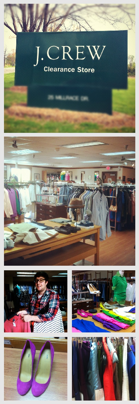 J. Crew clearance center Lynchburg, Virginia- who knew there was such a heaven here on earth???? 25 millrace Drive