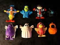 90s mcdonalds toys loved 90s halloween stuff.. Loved all of this!