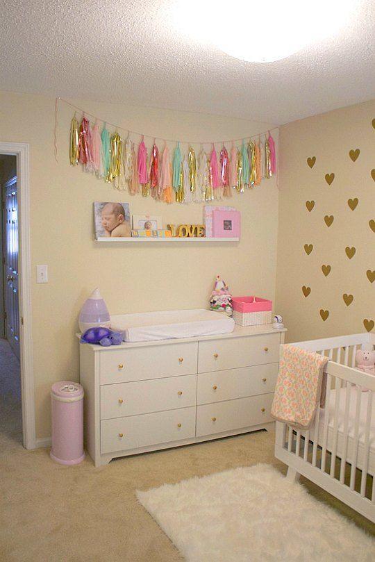 17 mejores ideas sobre muebles para la habitaci n del beb - Decoracion habitacion ninas ...