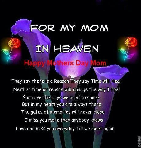 For My Mom In Heaven