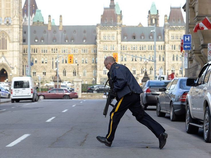 "October 22nd War memorial shooting. For of the city is going into a ""lockdown"" state."