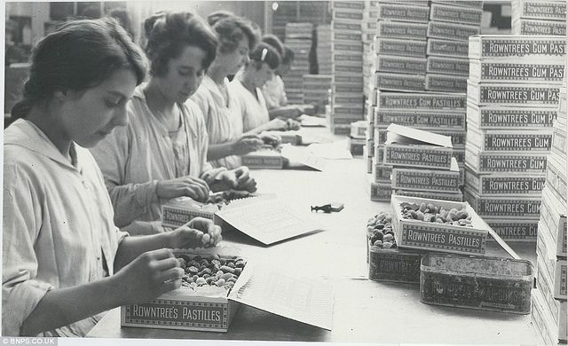 1910 UK - fruit pastilles, Rowntrees, York